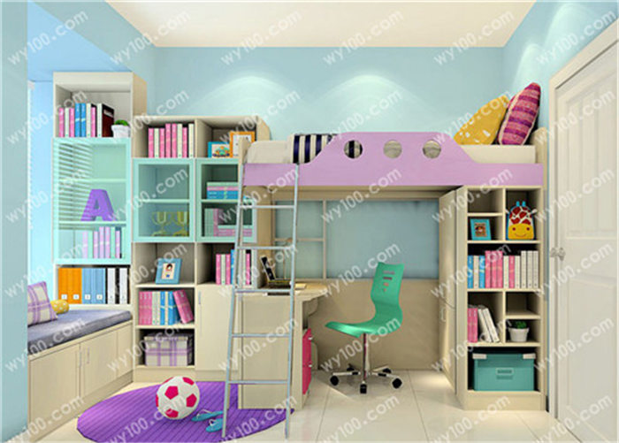 儿童房设计应该注意哪些细节 - 维意定制家具网上商城