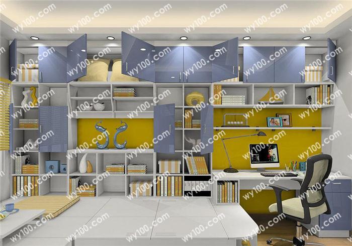 儿童书房要怎么设计 - 维意定制家具网上商城