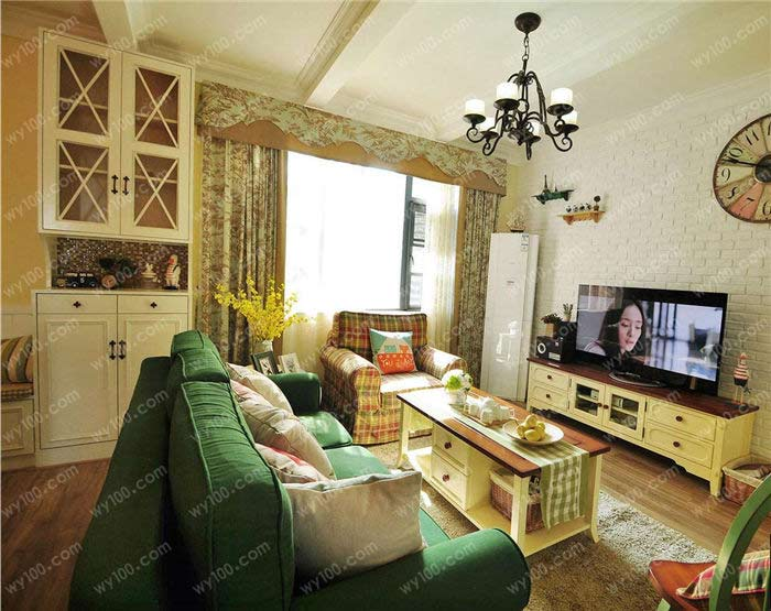 田园风格壁纸有哪些 - 维意定制家具网上商城