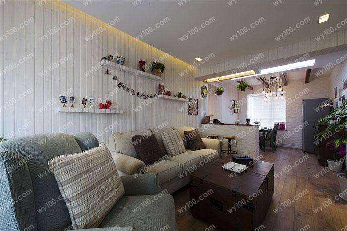 客厅贴墙砖好不好 - 维意定制家具网上商城