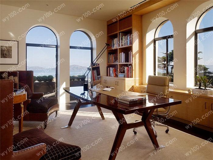 书房空间设计原则 - 维意定制家具网上商城