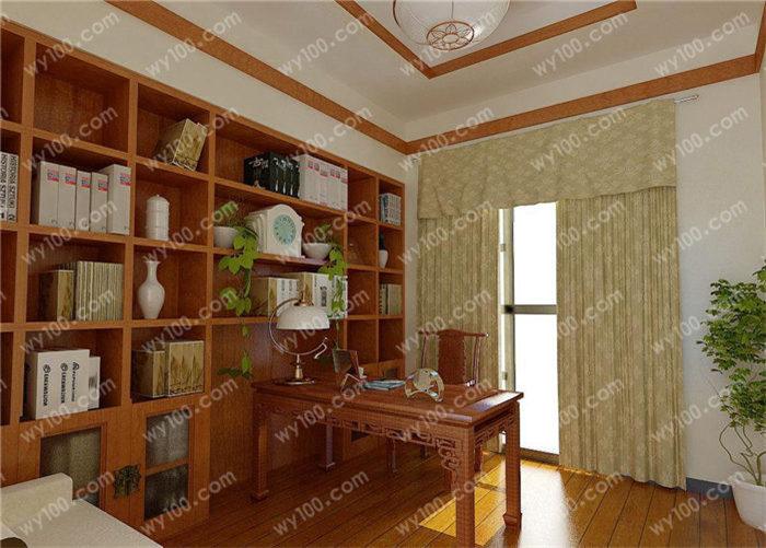 现代中式书房门头设计有哪些 - 维意定制家具网上商城