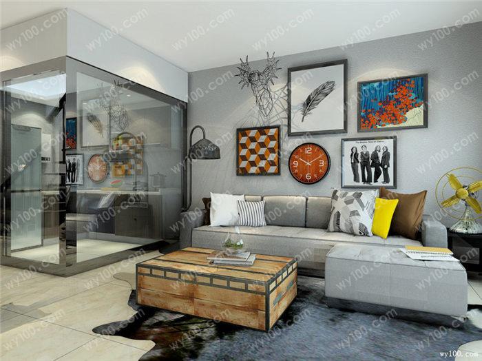 装饰画与室内搭配 - 维意定制家具网上商城