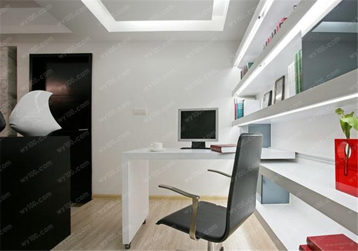 开放式书柜设计 - 维意定制家具网上商城
