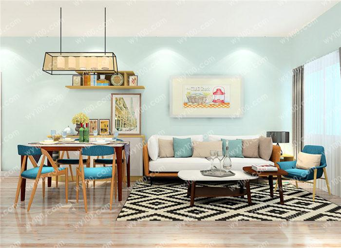 客厅背景墙如何挂画 - 维意定制家具网上商城