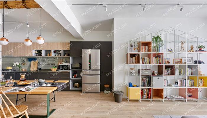 开放式厨房与客厅衔接怎么设计 - 维意定制家具网上商城