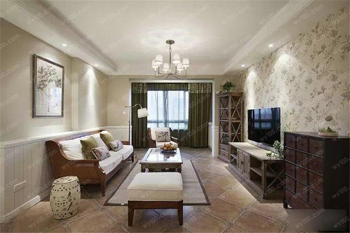 沙发背景墙壁纸的搭配技巧 - 维意定制家具网上商城