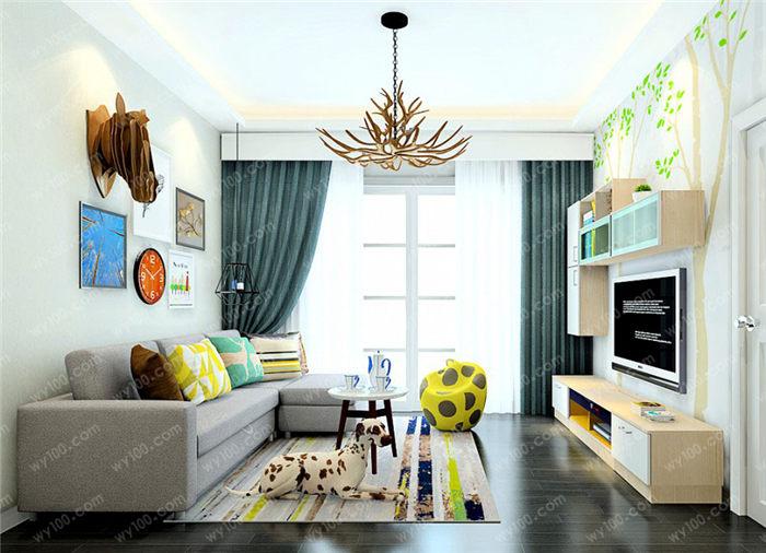 欧式简约风格装修 - 维意定制家具网上商城