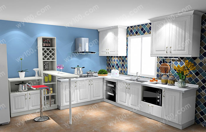 开放式厨房装修选择哪些装修风格 - 维意定制家具网上商城