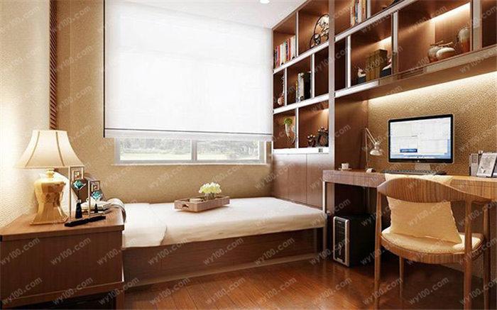 榻榻米书房装修设计案例 - 维意定制家具网上商城