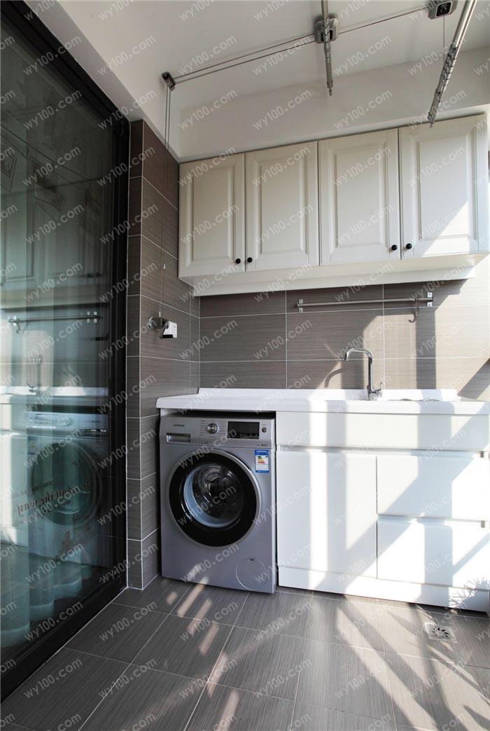 阳台整体洗衣柜怎么设计 - 维意定制家具网上商城