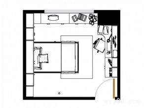 现代时尚儿童房效果图 12�O实用型小清新_维意定制家具商城