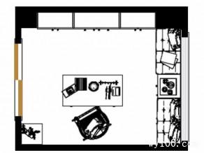 欧式飘窗书房 7�O原木的自然魅力_维意定制家具商城