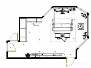 欧式卧室效果图 12�O奇葩户型得救_维意定制家具商城