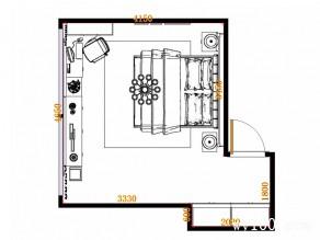 美式时尚卧房 24�O细腻的空间魔法_维意定制家具商城