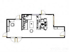 温馨客餐厅效果图 浪漫简约带面板_维意定制家具商城