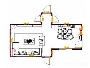 开放式客餐厅效果图 30�O将简约新生活理念进行到底_维意定制家具商城