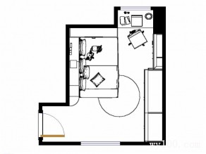 卡通型儿童房设计 蓝绿黄配合给人清新活泼感_维意定制家具商城