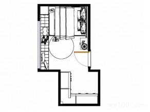 开放式卧室效果图 11�O体验精致生活_维意定制家具商城
