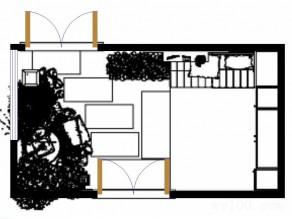 田园式门厅效果图_维意定制家具商城