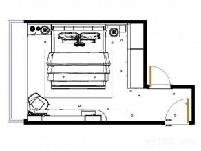 大飘窗卧室效果图_维意定制家具商城