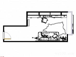 个性书房效果图_维意定制家具商城