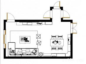 简约客餐厅效果图 30�O高大上的家庭影院你值得拥有_维意定制家具商城