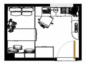 彩色儿童房效果图 给孩子不一样的6�O儿童房_维意定制家具商城