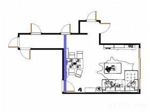 简约客餐厅效果图 51�O令人回归自然本真_维意定制家具商城
