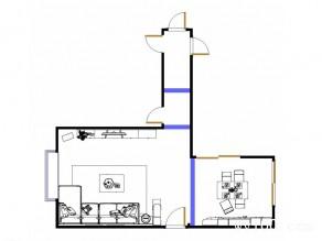 清新客餐厅效果图 86�O绿白配引领家装新潮流_维意定制家具商城