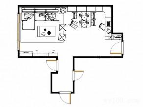 现代简约客餐厅效果图 8�O简单实用_维意定制家具商城