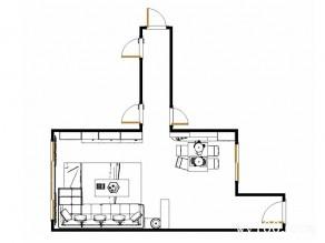 简约客餐厅效果图 37�O商务人士舒适之家_维意定制家具商城