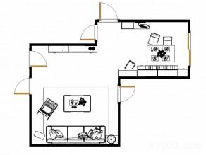 大户型客餐厅效果图  46�O营造大户人家风范_维意定制家具商城