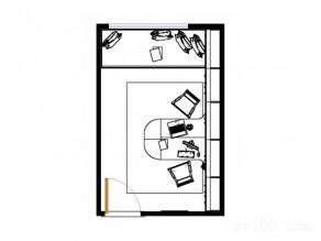 榻榻米书柜书房效果图 13�O空间清晰舒服_维意定制家具商城