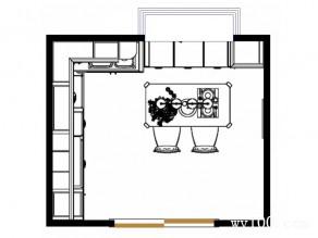 简约厨房效果图 12�O舒心设计让你爱上烹饪_维意定制家具商城