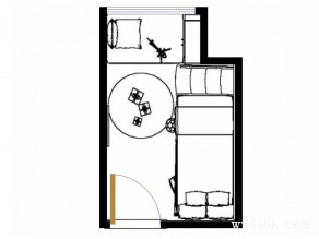 创意儿童房装修效果图 6平可以变得如此个性_维意定制家具商城