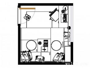 多功能榻榻米书房效果图 7�O赋予小空间勃勃生机_维意定制家具商城