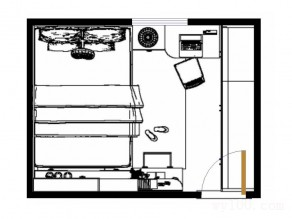 12�O文艺卧室 就是这个范儿_维意定制家具商城