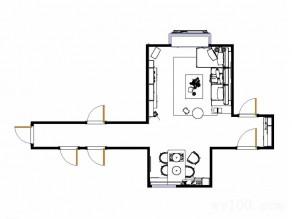 舒适客餐厅效果图 69�O巧用飘窗打造惬意阅读区_维意定制家具商城