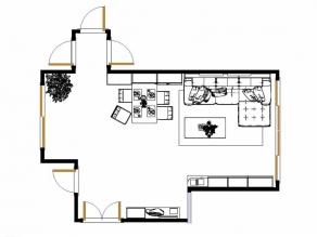 不规则户型设计 清新自然而不失时尚_维意定制家具商城