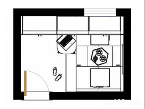 榻榻米卧室效果图 7�O合理利用空间_维意定制家具商城