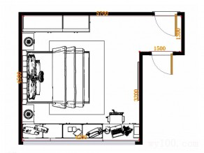 卧室装修效果图  25�O合理利用空间_维意定制家具商城