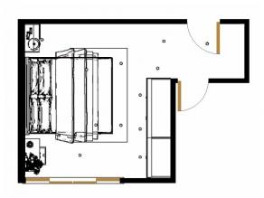 简洁卧室效果图 20�O给人一种清爽舒适的感觉_维意定制家具商城