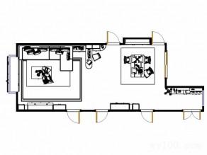 博古架隔断客餐厅 31�O整个空间既优雅又显高贵_维意定制家具商城