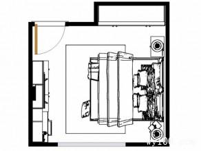 田园欧式卧室 15�O蓝蓝的空间自有你的梦_维意定制家具商城