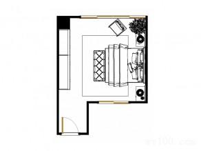 衣柜卧室设计效果图 29�O原来衣柜还能这样组合_维意定制家具商城