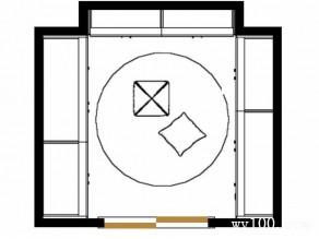 U形设计衣柜 超强收纳功效_维意定制家具商城