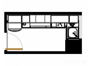 英吉利系列厨房F0189_维意定制家具商城