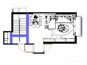 客餐厅隔断柜效果图  22�O隔断柜挂饰珠帘_维意定制家具商城