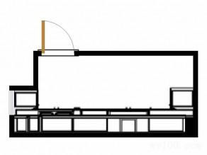 田园厨房效果图 7平营造复古浪漫的感觉_维意定制家具商城